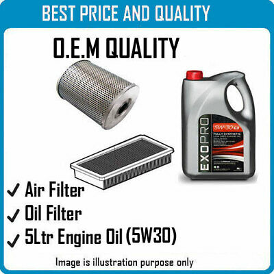 AIR OIL FILTERS  AND 5L ENGINE OIL FOR  FOR TALBOT OEM QUALITY 2213 4180