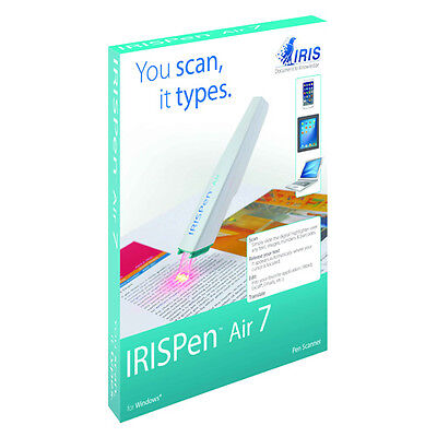 IRISPen Air 7 Wireless Pen scanner Scan text directly into software