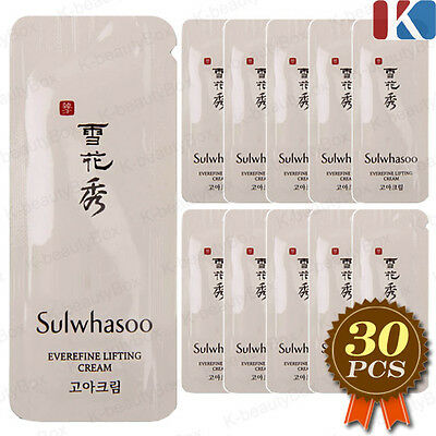 Sulwhasoo Everefine Lifting Cream 1ml x 30pcs(=30ml) AMORE PACIFIC Skin Care