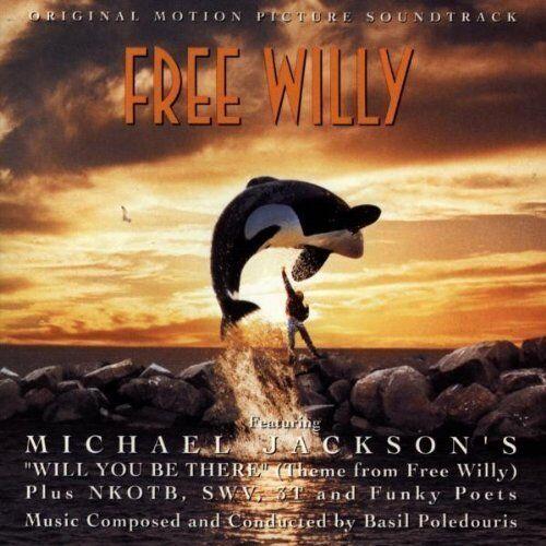 Free Willy (1993) Michael Jackson, NKOTB, SWV.. [CD]