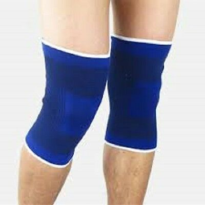 2 x Elastic Neoprene Knee Support Strap Protection Sport Running Injury Sprain