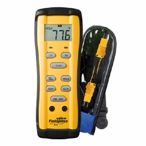 Fieldpiece ST4 - Dual Temperature Digital Thermometer - HVACR