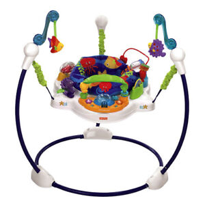 Fisher Price Jumperoo-Folds,Heights,Washable,Musical,etc