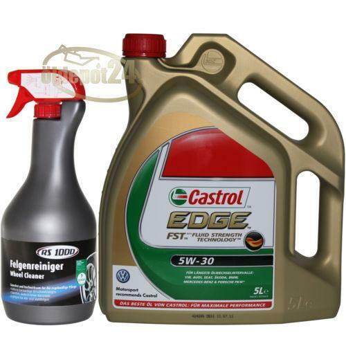castrol edge 5w 30 longlife 5 liter ebay. Black Bedroom Furniture Sets. Home Design Ideas