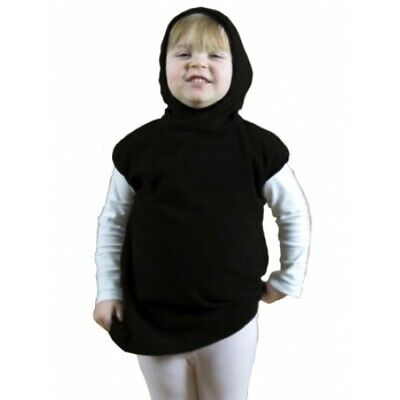 Costumes With C (Halloween Costume - Kid Choir Dress - Black One Piece with Hood - Dark -)