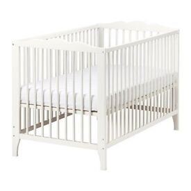 Ikea Cot with mattress....in good condtion (never used)