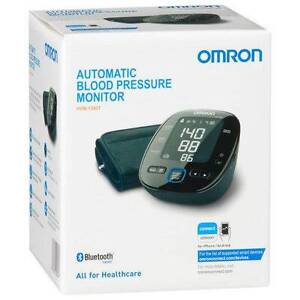 Omron Bluetooth Upper Arm Blood Pressure Monitor HEM-7280T Mitcham Whitehorse Area Preview