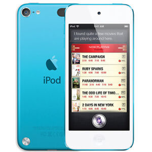 BRAND-NEW-APPLE-IPOD-TOUCH-A1421-32GB-5th-GENERATION-BLUE-MP3-PLAYER