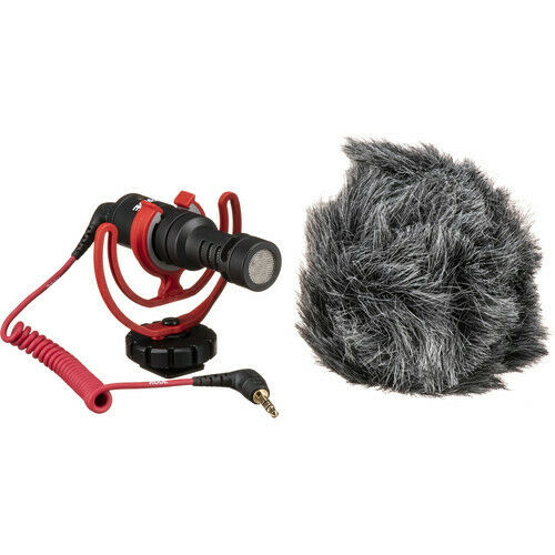 Rode VideoMicro Ultracompact Camera-Mount Shotgun Microphone