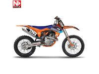 New KTM SX 85 13-15 Nstyle Lucas Oil Graphics Sticker Kit Motocross