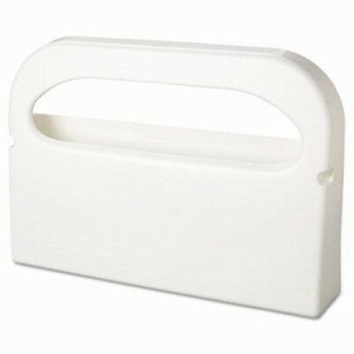 Toilet Seat Cover Dispenser, Plastic, White, Half-Fold, 2 per Box (HOSHG12)