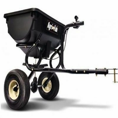 Tow Behind Lawn Spreader Issue ATV Fertilizer Home Salt Hopper Tractor S