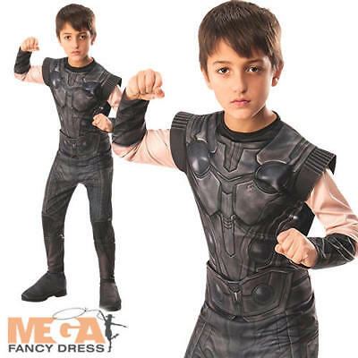 Infinity War Thor Boys Fancy Dress Avengers Superhero Childrens Kids Costume ](Thor Costumes For Girls)