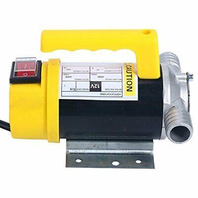 12v Dc 350w 50lmin Fuel Oil Water Transfer Pump Biodiesel Kerosene Pump Us Esa