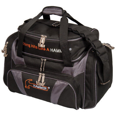 Hammer Bowling Double Tote w/shoes 2-Ball Bowling Ball Bag - Free Shipping!, used for sale  Overland Park