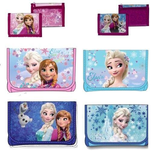 Disney Frozen Kinder Portemonnaie Geldbeutel Geldbörse Schlüsseletui Elsa Anna