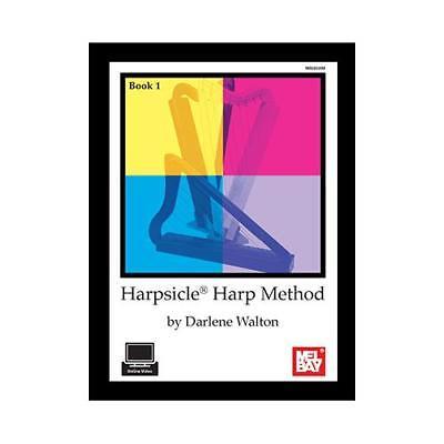Harmonica Book Method Video - Harpsicle Harp Method Book 1 by Darlene Walton, Beginner, Book and Onlive Video
