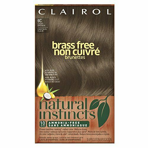 Clairol Natural Instincts Semi-Permanent Hair Color Kit, 3 P