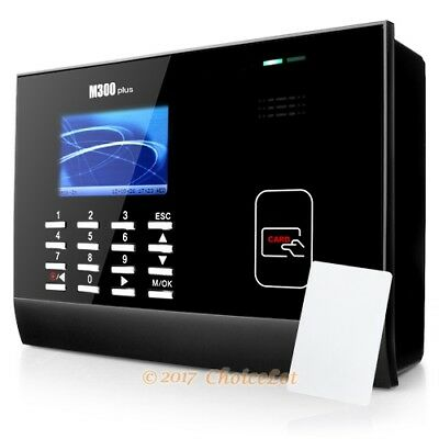 New Id Card Attendance Time Clock For Track Employee Time  Tcp Ip  Usb  Software