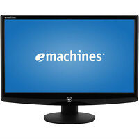 "Emachines 20"" Widescreen LCD Computer Monitor. VGA Input."