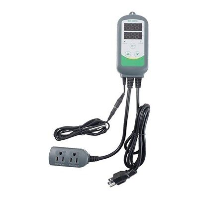 Inkbird Pre-wired Digital Temperature Controller Thermostat 110v 2 Stage