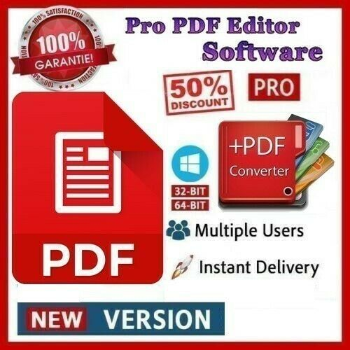 Pro PDF Editor ✅ Creator   Reader   Viewer  Converter-Hot Price and Fast Del ✅🔥