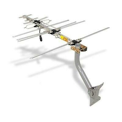 RCA Compact Outdoor Yagi HDTV Antenna with 70 Mile Range ANT