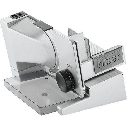 Ritter icaro 7 Silbermetallic Elektro-Allesschneider Metall-Ausführung