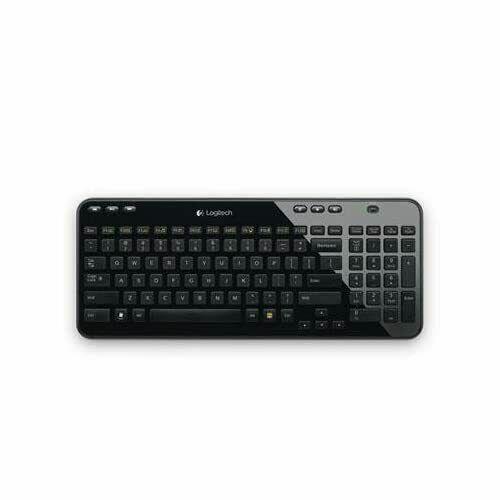Logitech K360 Advanced Wireless Compact Keyboard With USB Dongle - Black