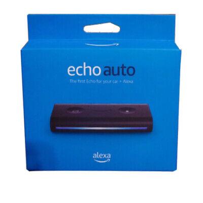 Amazon Echo Auto Smart Car Speaker with Alexa 2020 - Black Add Alexa to your Car