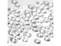 Round Diamante Clear Jewels - pack of approx. 500pcs Wedding Decorations