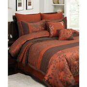 King Comforter Set Red