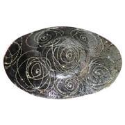 Black Glass Bowl