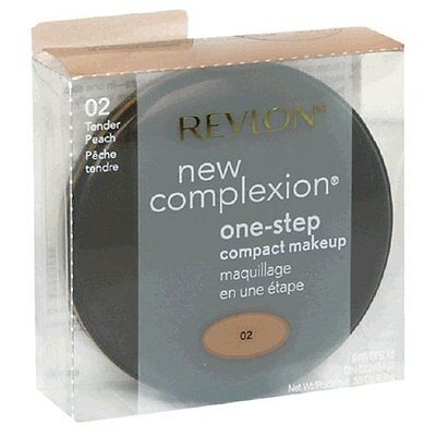 Revlon New Complexion One-step Compact Makeup, Tender Peach, 0.35 Ounce