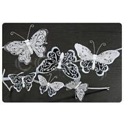 Schmetterling Deko Federn