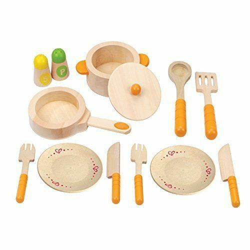 Hape Gourmet Play Kitchen Starter Accessories Wooden Play Se