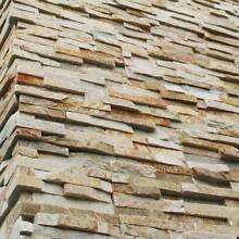 Miami Sand White Natural Stack Stone Wall Tile Gold Natural Quart Southbank Melbourne City Preview