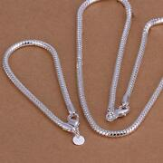 4mm Sterling Silver Necklace