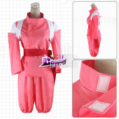 Anime Costume For Men (Pink S-2XL Men Anime Spirited Away Cosplay Costume)