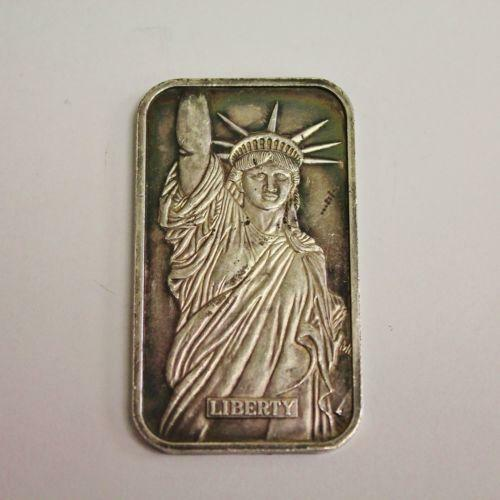 1 Oz Silver Bar Liberty Ebay