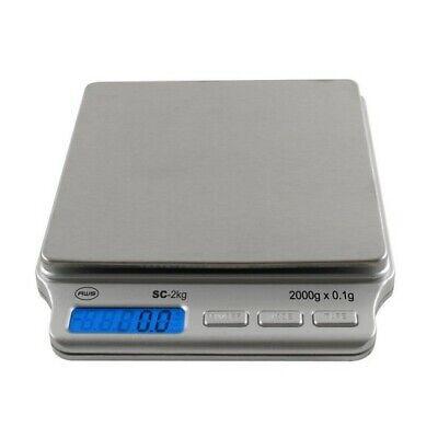 American Weigh Scales AMW-SC-2KG 2000 X 0.1G Portable Digita