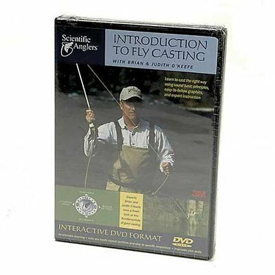 Scientific Anglers Introduction to Fly Casting (Fly Casting Dvd)