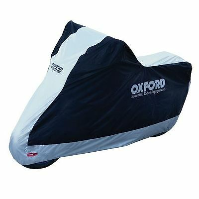 Oxford Aquatex Motorcycle Waterproof Outdoor Cover Large Motorbike Scooter 2016