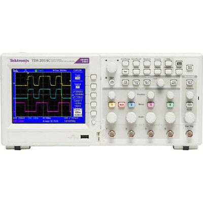 Tektronix Tds2014c 100 Mhz 4-ch 2 Gss Digital Storage Oscilloscope