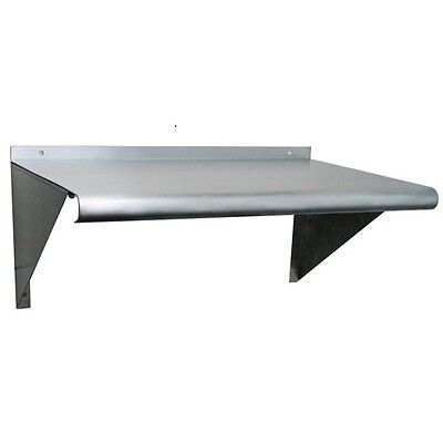 New Stainless Steel Wall Mount Shelf - 30 X 18 Nsf Commercial Grade- 18 Gauge