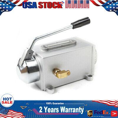 New Manual Hand Pump One-shot Hand Oiler Lubricator Bridgeport 8cc Type Y-8 Cnc