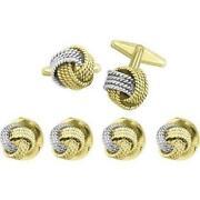 Gold Knot Cufflinks
