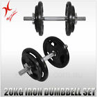 Cast Iron Set Dumbbells