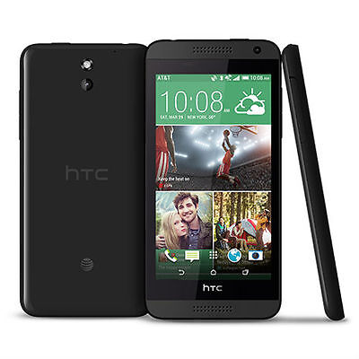 HTC Desire 610 8GB Black (Unlocked) GSM 4G LTE Android Smartphone Used
