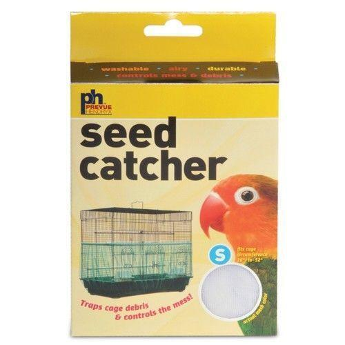 how to make a bird seed catcher for bird cage